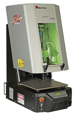 Pulsed fibre laser welding system