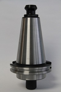 Retention knob installed in toolholder