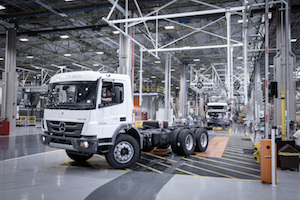 Mercedes-Benz do Brazil truck production Atego 2730