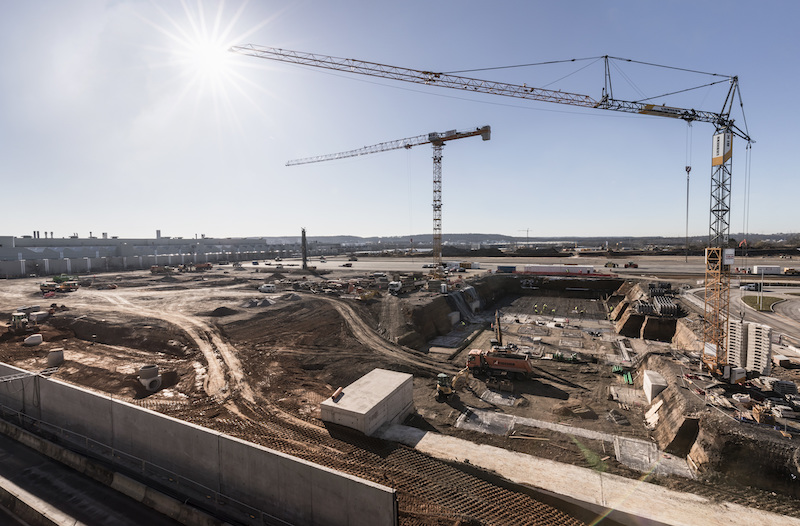 Factory 56 is being built as part of the Sindelfingen plant, and will open in 2020