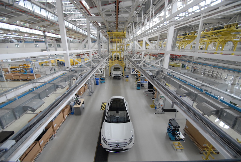 Mercedes-Benz factory, Pune