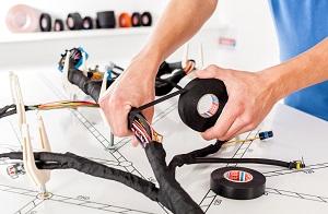 tesa wire harnessing
