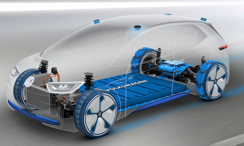 Volkswagen's MEB platform is a crucial part of its electrification strategy