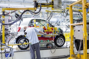 smart fortwo production at Hambach