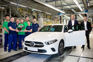 Mercedes-Benz A-Class production at Kecskemét Hungary
