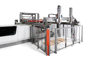 Bystronic materials handling