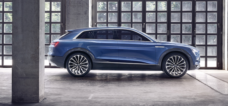 Revolución en VE, Audi e-tron concept