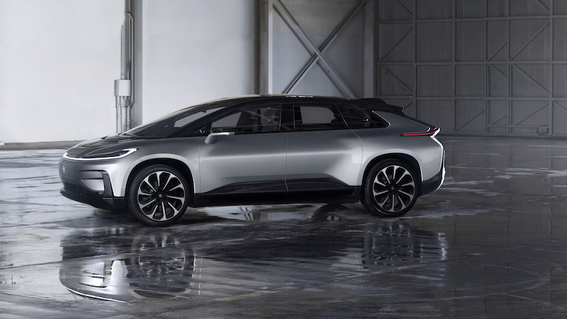 EV disruptors Faraday Future