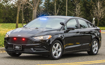 Ford has developed a Special Service PHEV for senior police chiefs and government personnel. The vehicle is capable of reaching 85mph