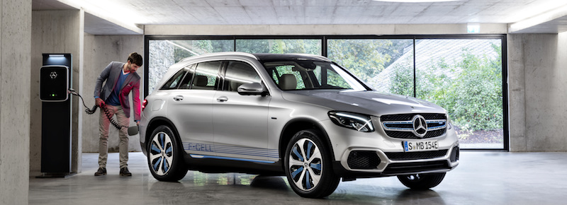 The GLC F-Cell is a new hydrogen SUV from Mercedes-Benz