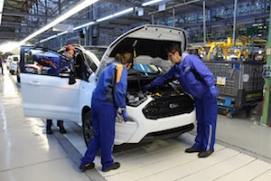 Ford Starts European Production of the New EcoSport SUV in Romania to Meet Growing Customer Demand