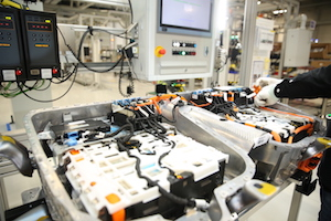 BMW Brilliance battery production