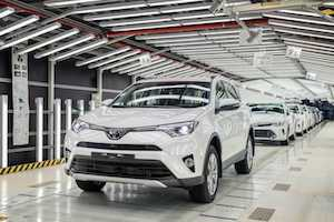 Toyota RAV4 production copy