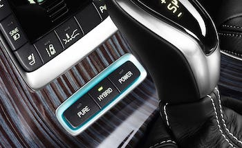 Volvo's V60 plug-in hybrid (interior pictured above) has an electrified rear axle from Magna, as does the S60
