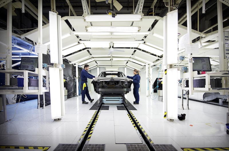 Volvo Cars XC60 production