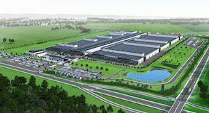 Mercedes-Benz Jawor engine plant render