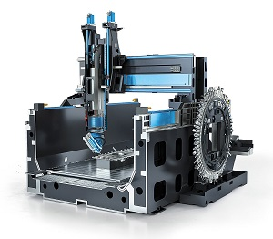 DMG Mori Gantry-type machining centre