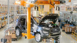 Ford Sollers Starts Production Of The New Ford EcoSport Small SUV In Russia; Ford SUV Sales Up 36 Percent In 2018