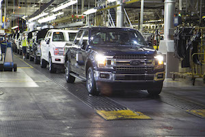 Ford F-150 Rolls off the Line