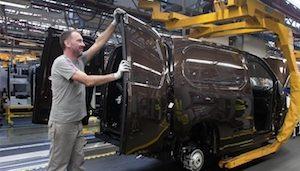 Groupe PSA van production copy
