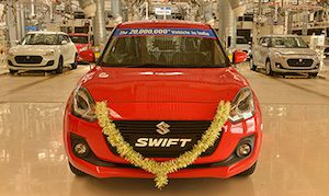 Suzuki India 20m milestone copy