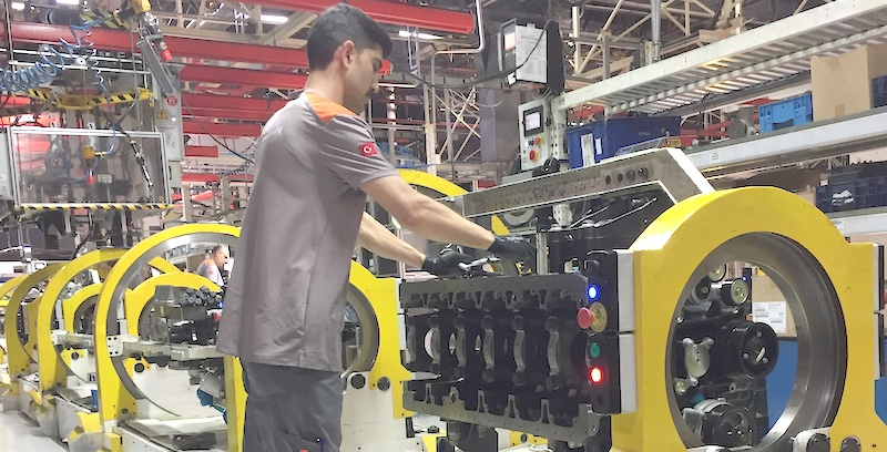 Tren de potencia de Ford Otosan Inonu