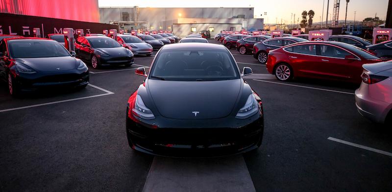 Model 3 First Deliveries