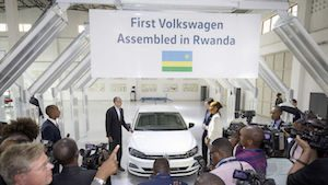 Volkswagen Rwanda assembly