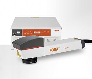 Foba 100-Watt fibre laser marking system