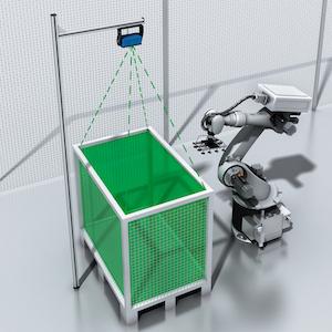 Sick 3D detection sensor
