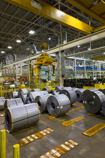 The US wants to introduce a rule to ensure North American sourced steel is used for 70% of core parts, such as engines, bodies and axles