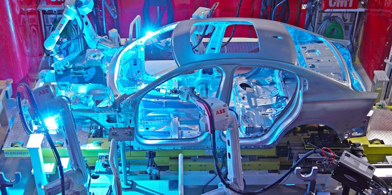 Volvo Charleston robots