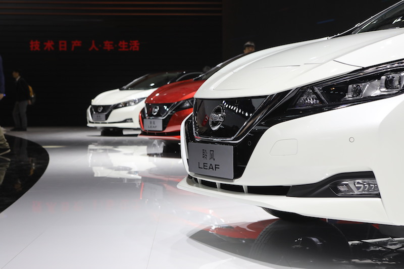 Nissan Auto China 2018 Leaf
