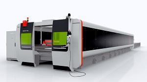 Bystronic BySprint Fibre 12020 laser cutting system
