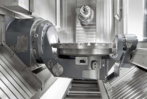 Heller 5-axis, horizontal-spindle machining centre