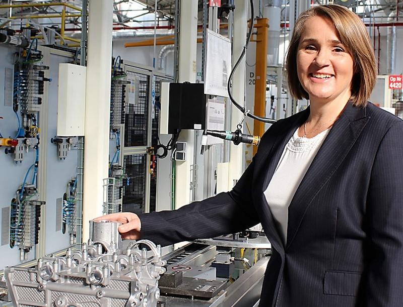 Josephine Payne, Plant Manager, Ford Craiova