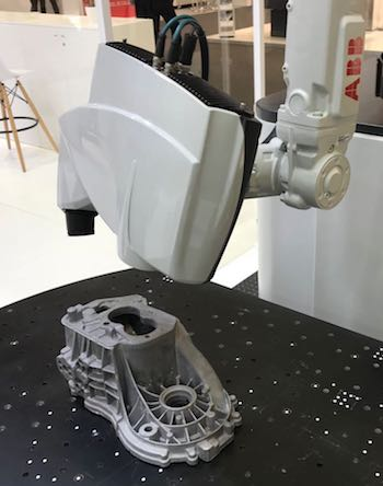 3D vision and metrology solution from ABB