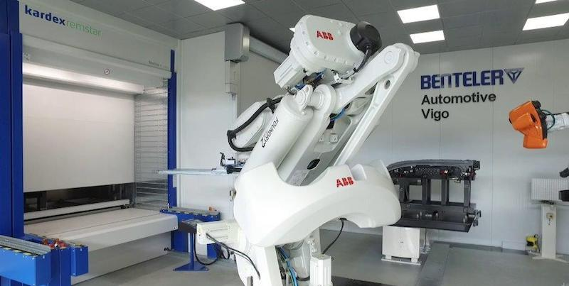 ABB 3D white-light scanning sensor technology