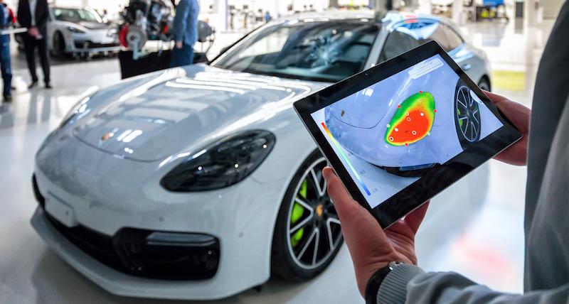 Porsche test