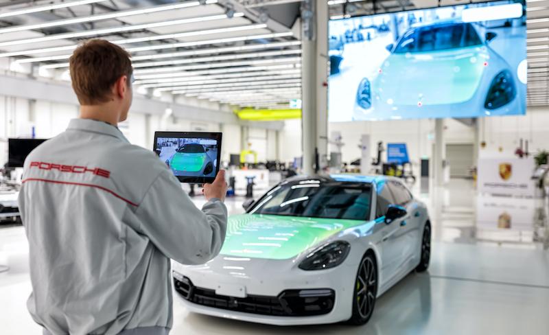 Porsche test_