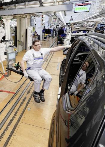 VW wolfsburg ergonomics