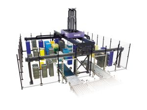 Daifuku SPDR temporary storage and sortation system