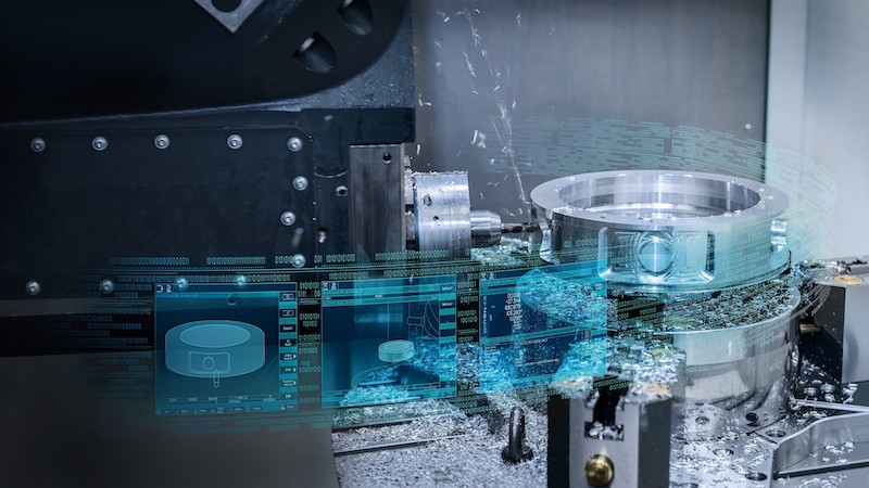 Siemens digitisation for machine tools