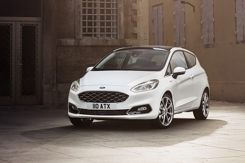 Ford Fiesta Im Winter1617