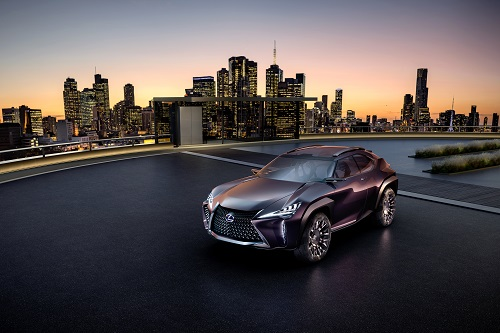 Lexus Ux Im Winter1617